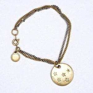 MARC JACOBS~crystal stars~CHARM BRACELET~TWO-TONE